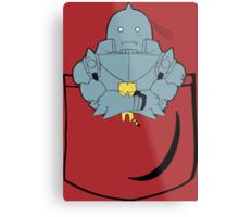 Pocket Alphonse (FMA) Metal Print