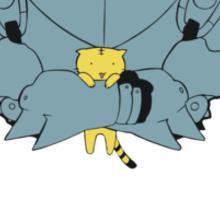 Pocket Alphonse (FMA) Sticker