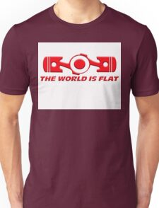VW the world is flat Unisex T-Shirt