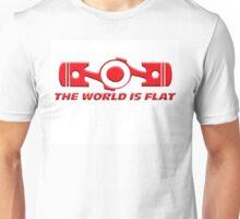 VW the world is flat Unisex T-Shirt