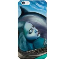 The Nereid, the Boat and the Delphine iPhone Case/Skin