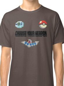 Choose Your Nostalgia Weapon Classic T-Shirt