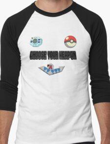 Choose Your Nostalgia Weapon Men's Baseball ¾ T-Shirt