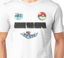 Choose Your Nostalgia Weapon Unisex T-Shirt