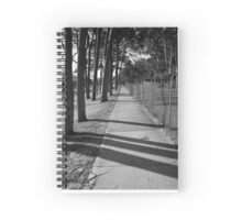 Shadow Of The Sun Spiral Notebook