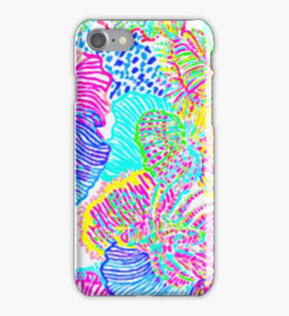 Lilly Pulitzer Rhode Island State Inspired  iPhone Case/Skin