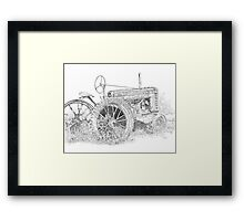 Junked Johnny Framed Print