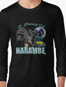 Harambe Tribute Shirt Long Sleeve T-Shirt