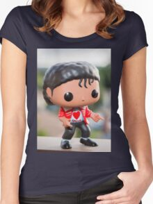MJ Red Jacket Women's Fitted Scoop T-Shirt