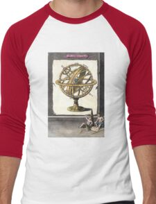 Armillary Sphere - The Artificial Sphere - chart graphic Men's Baseball ¾ T-Shirt