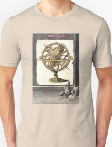 Armillary Sphere - The Artificial Sphere - chart graphic Unisex T-Shirt