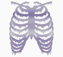 Pastel Melty Ribcage by ribcagekitten