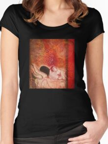 with my colored self Women's Fitted Scoop T-Shirt