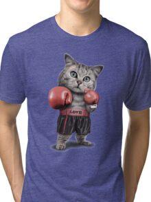 BOXING CAT Tri-blend T-Shirt