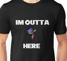 Sonic CD - I'm Outta Here! Unisex T-Shirt