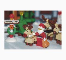 Santa and the reindeers  Baby Tee