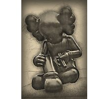 Kaws at Yorkshire Sculpture Park Photographic Print