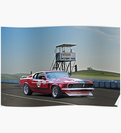 1970 Ford Mustang Boss 302 II Poster