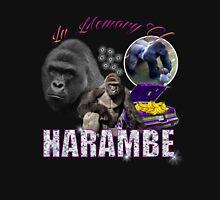 Harambe Tribute Shirt Purple Unisex T-Shirt
