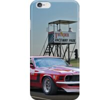 1970 Ford Mustang Boss 302 II iPhone Case/Skin