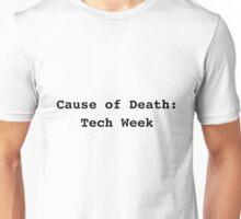 Cause of Death - Black Version Unisex T-Shirt
