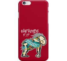 Harambe RIP new iPhone Case/Skin