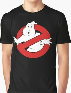Ghostbusters 1980s Film Logo T-shirt for Men or Women