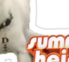 Celine, Summer Heights Sticker