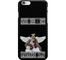 Harambe RIP  iPhone Case/Skin