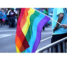 Gay Pride Photographic Print