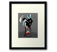 Reaper Lia Framed Print