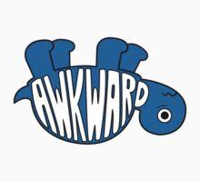 Awkward Turtle - BLUE Kids Clothes
