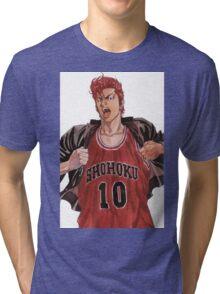 Sakuragi - Slam Dunk Tri-blend T-Shirt