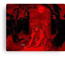 I Am Gargoyle  Canvas Print