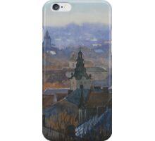 Panoramic view of Lviv iPhone Case/Skin
