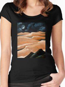 Desert Living Women's Fitted Scoop T-Shirt