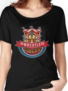 Wrestle Circus Logo Women's Relaxed Fit T-Shirt