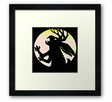"""The Call of The Jackalope"" Framed Print"