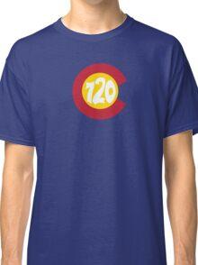 Hand Drawn Colorado Flag 720 Area Code Classic T-Shirt
