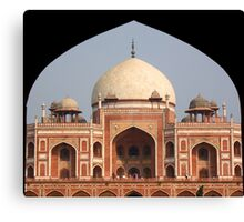 Humayun's tomb, Delhi, India Canvas Print