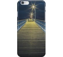 Point Lonsdale Pier at night iPhone Case/Skin