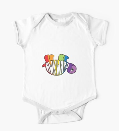 Awkward Turtle - RAINBOW One Piece - Short Sleeve