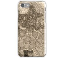 Map Of Rome 1773 iPhone Case/Skin