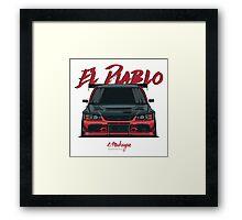 El Diablo (Evo IX) Framed Print