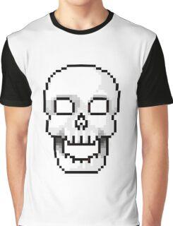 Pixel skull Graphic T-Shirt