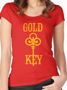Gold Key Comics Retro Logo Women's Fitted Scoop T-Shirt
