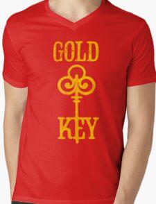 Gold Key Comics Retro Logo Mens V-Neck T-Shirt