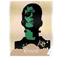 Frankengroom, Frankenstein, Groom, Wedding, Halloween Poster
