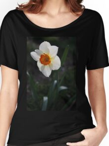 White Daffodil Women's Relaxed Fit T-Shirt