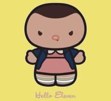 Hello Eleven One Piece - Short Sleeve